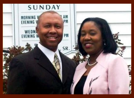 Pastor Jerome Hill and Barbara Hill
